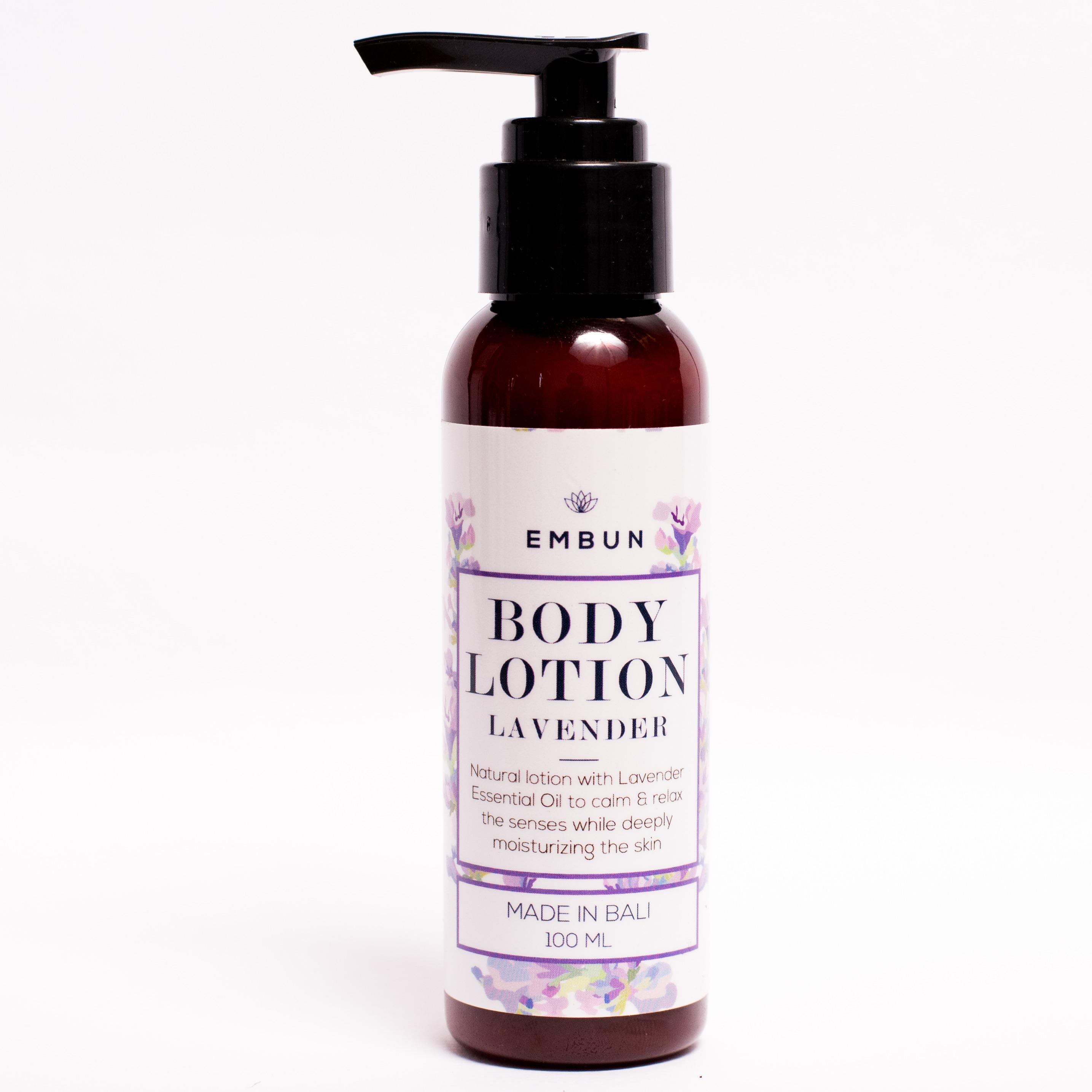 Embun Body Lotion Calming Lavender