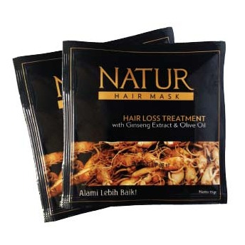 Natur Ginseng Extract & Olive Oil Hair Mask