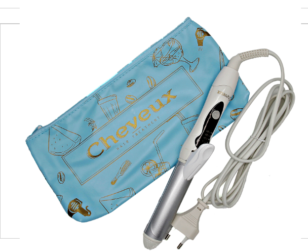 Cheveux 2in1 Mini Straightener and Curler
