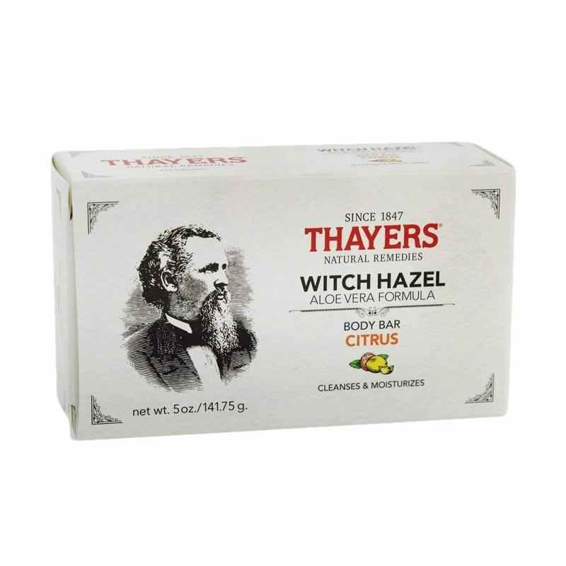 Thayers Witch Hazel Aloe Vera Formula Body Citrus Body Bar