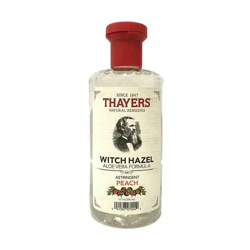 Thayers Witch Hazel Aloe Vera Formula Astringent Peach