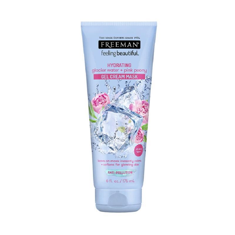 Freeman Beauty Hydrating Glacier Water Pink Peony Gel Cream Mask