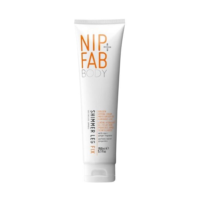 NIP+FAB Shimmer Leg Fix Moisturiser Glow Cream Rose Fragrance