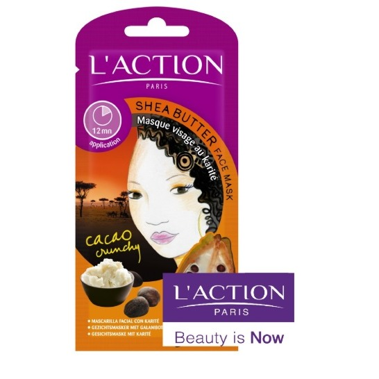 L'Action Paris Shea Butter Face Mask With Cacao