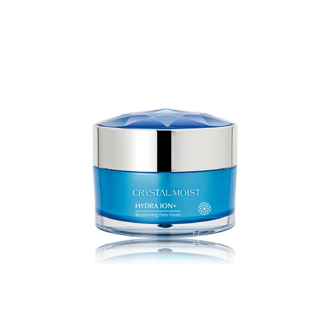 Crystal Moist HYDRA ION+ Moisturising Face Cream