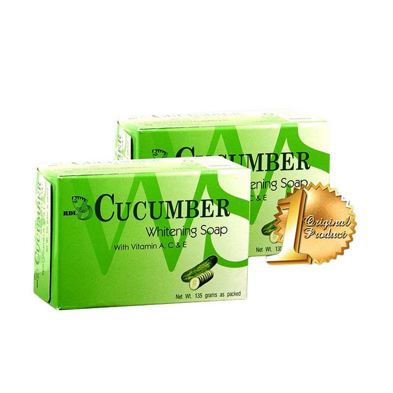 RDL Cucumber Brightening Soap