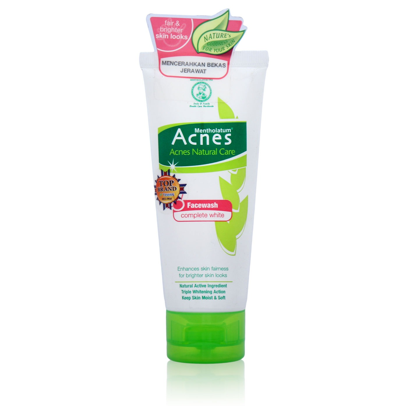 Acnes Natural Care Complete White Face Wash