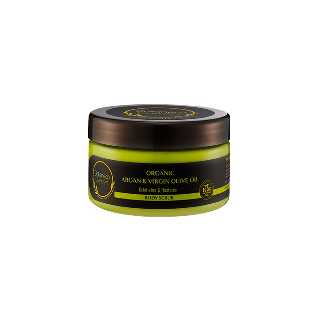 Botaneco Garden Organic Argan and Virgin Olive Oil Body Scrub