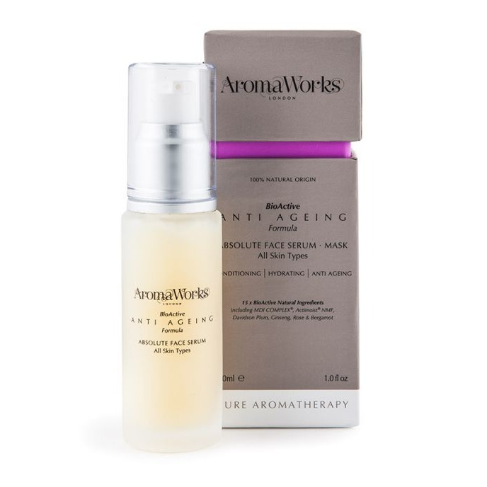 AROMAWORKS Absolute Face Serum Mask