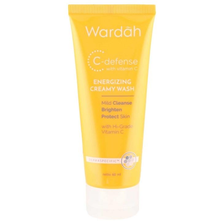 Wardah C-Defense Energizing Creamy Wash