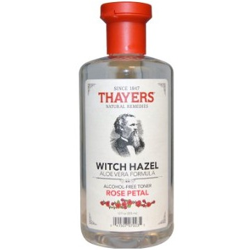 Thayers Rose Petal Witch Hazel with Aloe Vera Formula Alcohol-Free