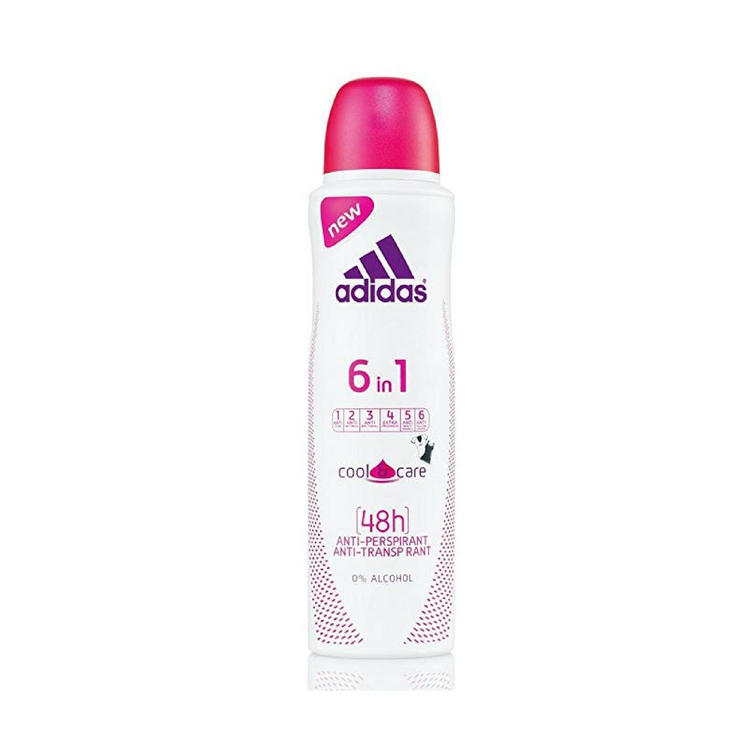 Adidas 6 in 1 Deo Spray for Women