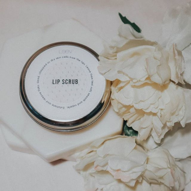 Leev Beauty Lip Scrub