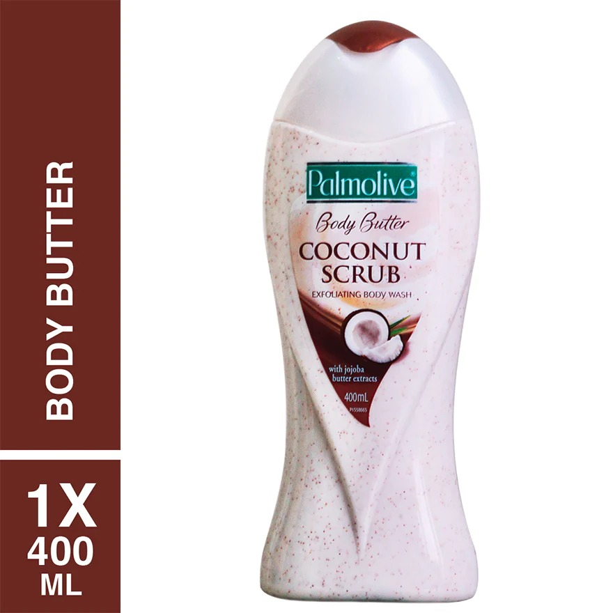 PALMOLIVE Body Wash Coconut Scrub
