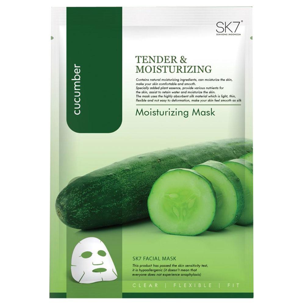 SK7 Cucumber Moisturizing Mask