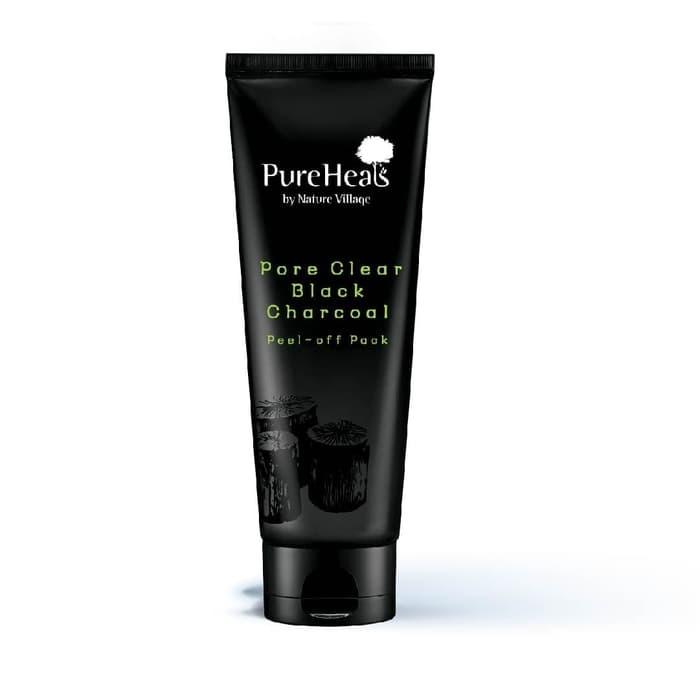 PureHeals Pore Clear Black Charcoal Peel-off Pack