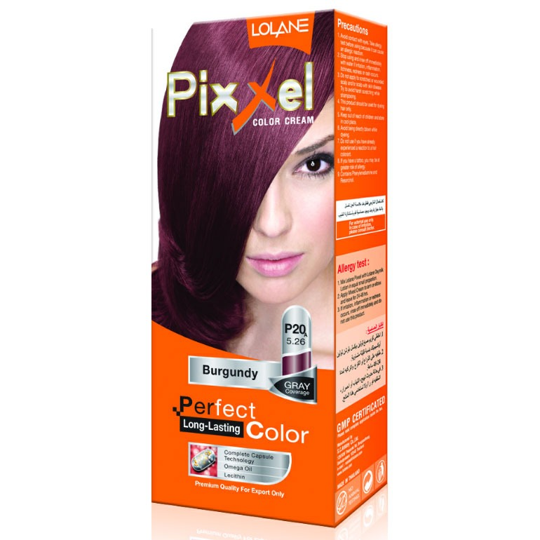 Lolane Pixxel P20A Light Red Violet Brown