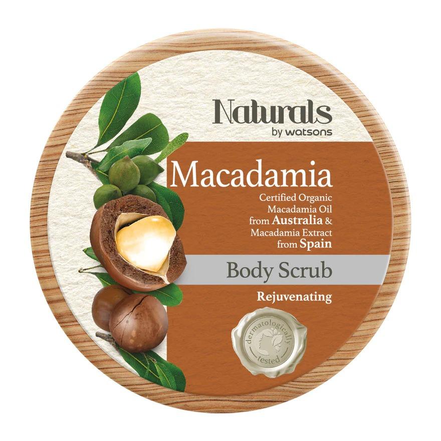 Naturals by Watsons Macadamia Body Scrub