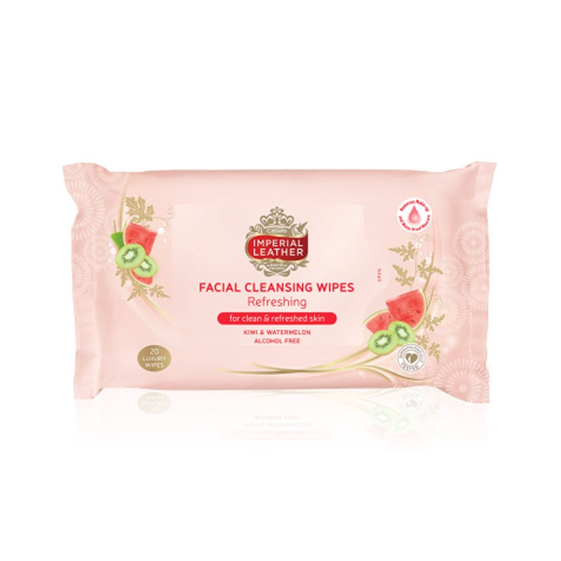 Imperial Leather Facial Wipes Refreshing