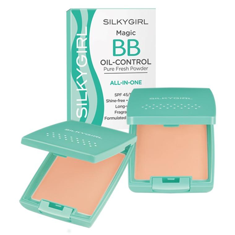SILKYGIRL Magic BB Oil-Control Pressed Powder