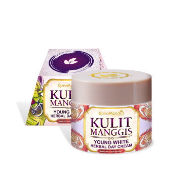 Roro Mendut Kulit Manggis Young White Herbal Day Cream