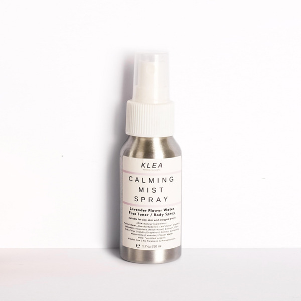 Klea Calming Mist Spray with Lavender Flower Water