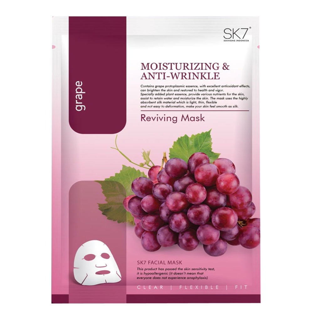 SK7 Grape Reviving Mask