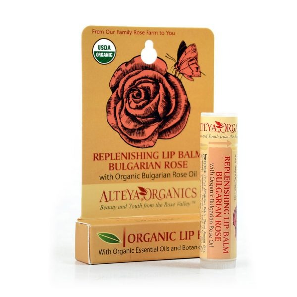 ALTEYA ORGANICS Replenishing Lip Balm Bulgarian Rose