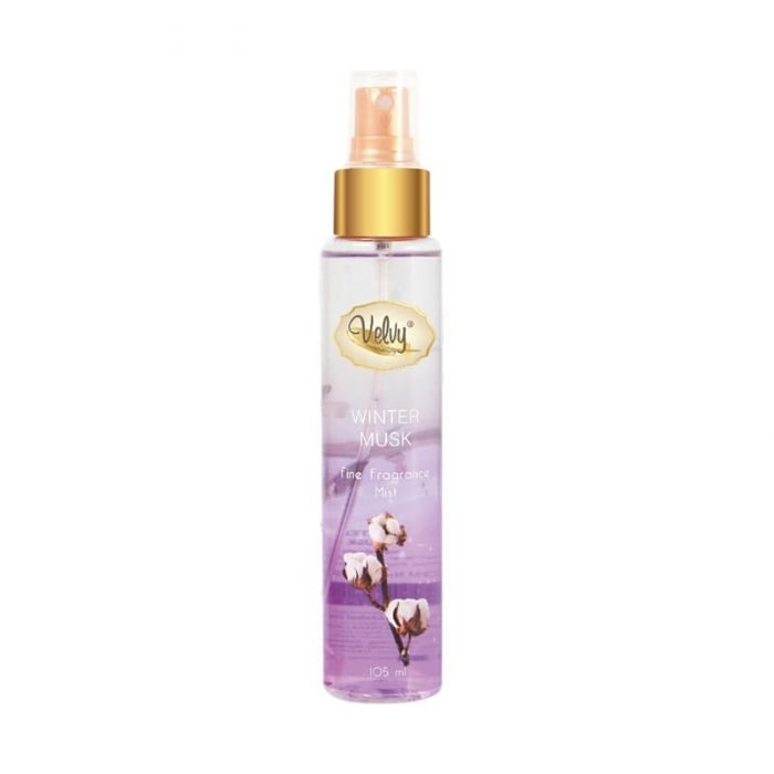 Velvy Fine Fragrance Mist WINTER MUSK (Cotton)
