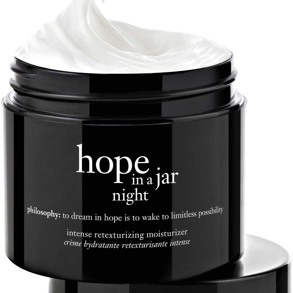philosophy Hope in a Jar Night (Intense retexturing moisturizer)