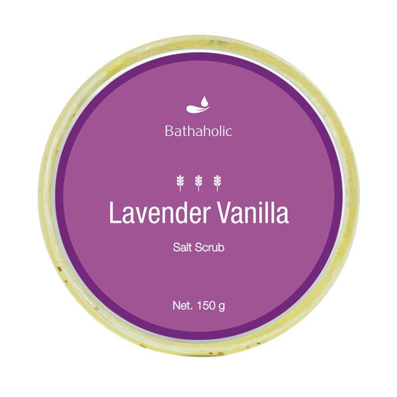 Bathaholic Lavender Vanilla Salt Scrub
