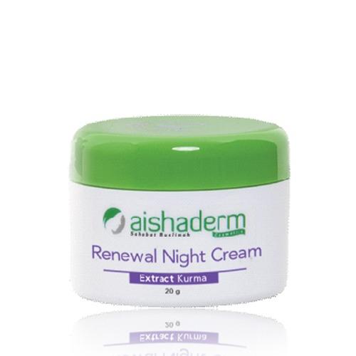 AISHADERM AISHADERM Renewal Night Cream