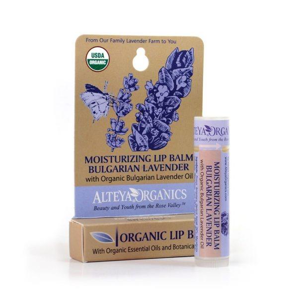 ALTEYA ORGANICS Moisturizing Lip Balm Bulgarian Lavender