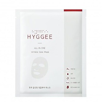 HYGGEE All-In-One Wrinkle Care Mask Tea