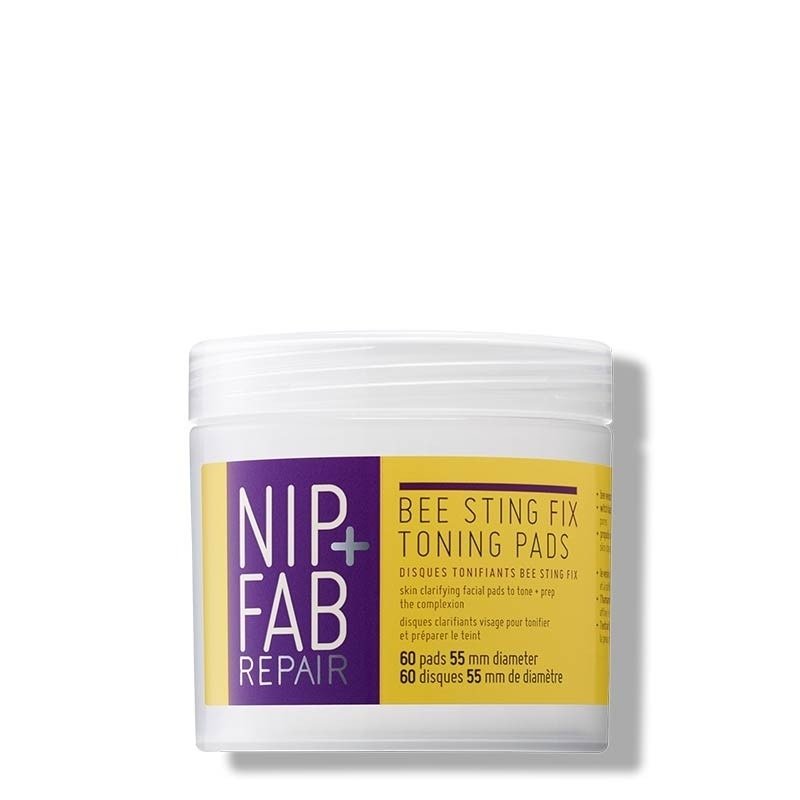 NIP+FAB Bee Sting Fix Toning Pads