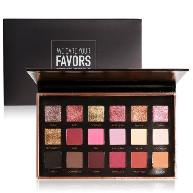 FOCALLURE 18 Colors Eyeshadow Pallete