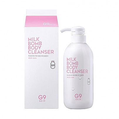 G9SKIN Milk Bomb Body Cleanser