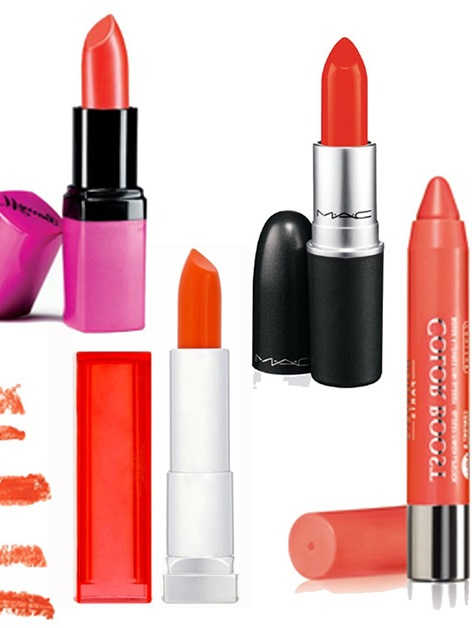 Orange Lipsticks