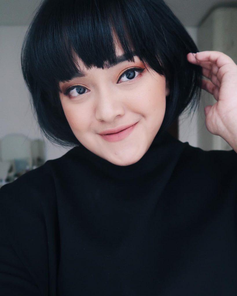 cara makeup untuk wajah bundar