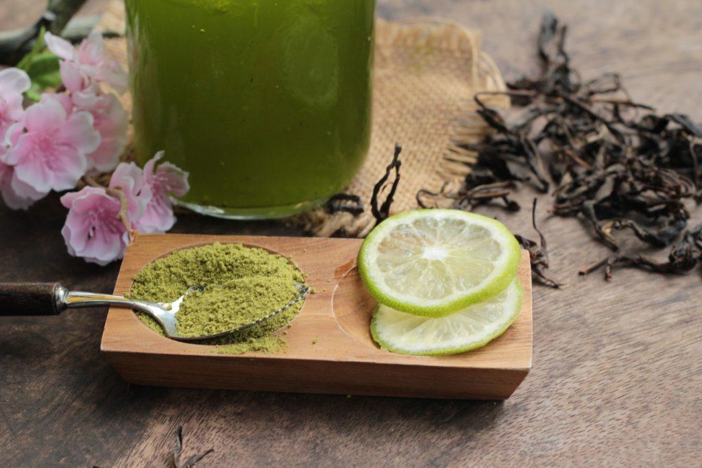 perawatan dengan green tea