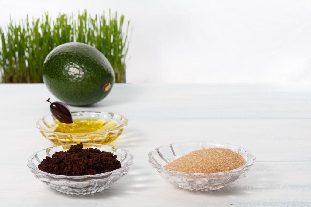 body scrub dari bahan alami