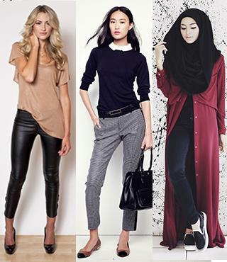 tips menyesuaikan outfits dengan riasan wajah