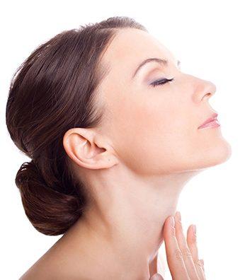 merawat kulit leher