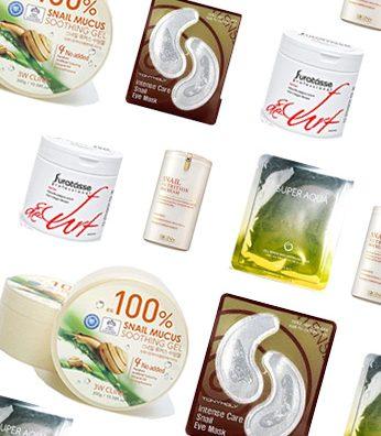 produk yang mengandung lendir siput