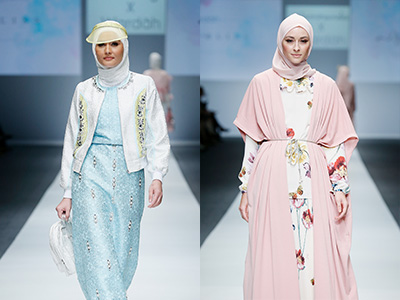 Gaya Hijab Fashion Show