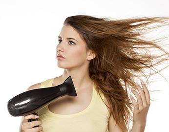 Efek Tebal pada Rambut Tipis