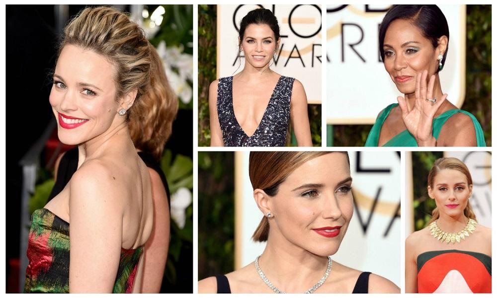 Rias wajah di ajang Golden Globes