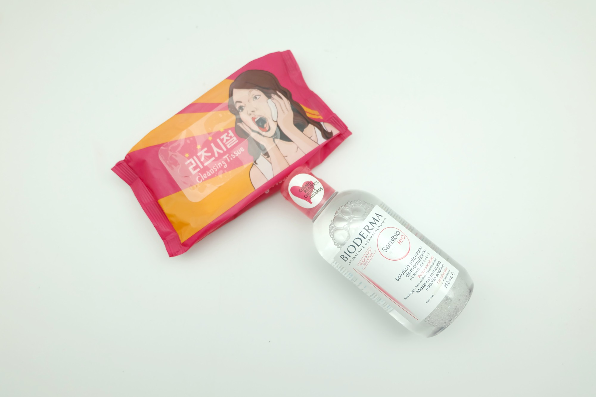 Micellar water vs cleansing wipes