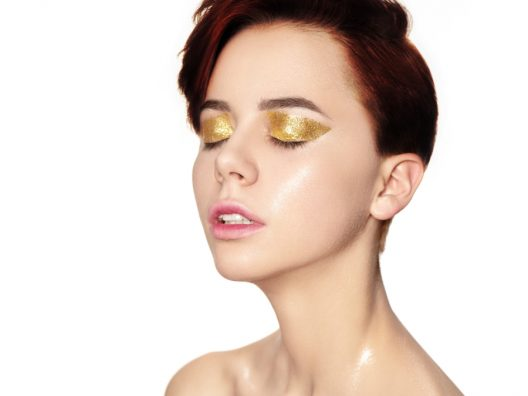 tips riasan glitter
