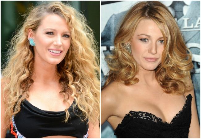 model rambut curly